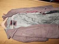DIDRIKSONs Women s Coat purple size 10 EU 40