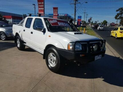 2011 Nissan Navara D22 MY08 ST-R (4x4) 5 Speed Manual Dual Cab Pickup Deer Park Brimbank Area Preview