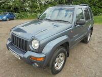 Jeep Cherokee 3.7 V6 Limited (blue) 2002