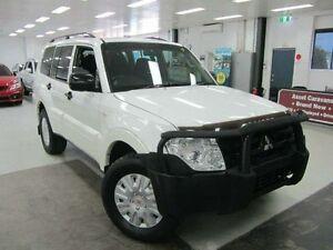 2012 Mitsubishi Pajero NW MY12 GL White 5 Speed Sports Automatic Wagon Geebung Brisbane North East Preview