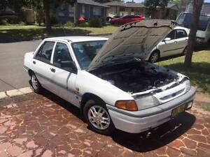 1993 Ford Laser Sedan Albion Park Shellharbour Area Preview