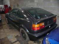1989 VW Corrado G60 Supercharger (LHD) Project