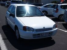 2008 Toyota Starlet Life White 3 Speed Automatic Hatchback Westcourt Cairns City Preview