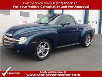 2005 CHEVROLET SSR 395 HORSE POWER