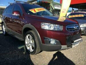 2012 Holden Captiva CG Series II 7 LX (4x4) Maroon 6 Speed Automatic Wagon Elizabeth West Playford Area Preview