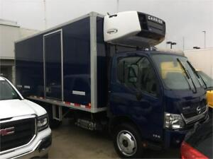 HINO 195 reefer truck 16 feet with independent option 2016