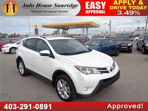 2014 Toyota RAV4 Limited 90 DAYS NO PAYMENT