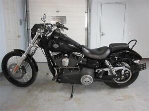 2011 FXDWG Dyna Wide Glide  usage Harley Davidson