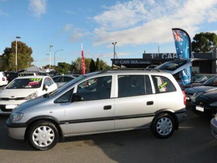 2001 Holden Zafira Silver 5 Speed Manual Wagon