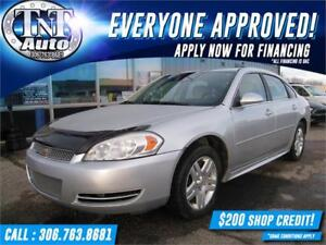 2012 Chevrolet Impala LT! ONLY 84,000KM! APPLY NOW! UR APPROVED!
