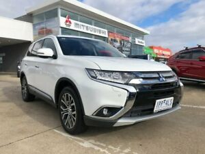 2018 Mitsubishi Outlander ZL MY18.5 Exceed AWD White 6 Speed Constant Variable Wagon Hoppers Crossing Wyndham Area Preview