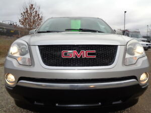 2007 GMC ACADIA SLT-AWD-DVD-HDTV-SUNROOF-LEATHER-REMOTE STARTER