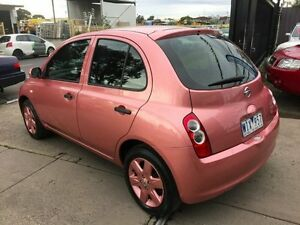 2008 Nissan Micra K12 City Collection Pink 4 Speed Automatic Hatchback Brooklyn Brimbank Area Preview