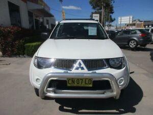 2011 Mitsubishi Triton MN MY11 GL-R White 4 Speed Automatic 4D UTILITY
