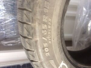 205/65 R15 Michelin X ICE tires