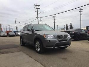 2013 BMW X3, ONLY 32k KM!! Navi, 360 camera view,Comfort Access