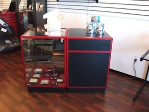 Display case / sales counter combo