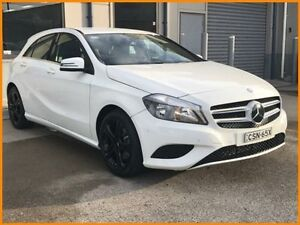 2014 Mercedes-Benz A180 176 BE White 7 Speed Automatic Hatchback Blacktown Blacktown Area Preview