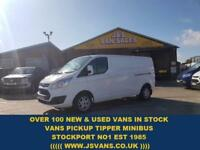 2014 64 FORD TRANSIT CUSTOM 2.2 290 LIMITED LONG WHEEL BASE SUPER CONDTION DIES