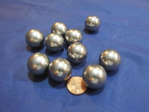 "7/8"" Dia. S2 Rockbit Tool Steel Hardened Ground Balls, 10 Pcs"