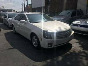 2007 Cadillac CTS auto lowkm leath superclean certified