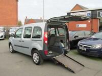 Renault Kangoo disabled access, wheelchair mobility scooter accessible, WAV