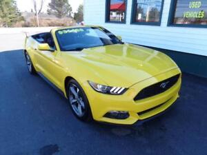 2017 Ford Mustang V6 Convertible for only $257 bi-weekly all in!