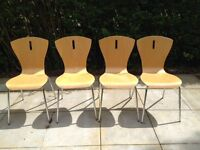 Bistro Stacking Dining Chairs