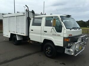 1994 Toyota Dyna BU88R 300 White Cab Chassis 3.7l 4x2 Revesby Bankstown Area Preview