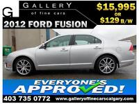 2012 Ford Fusion SEL $129 bi-weekly APPLY NOW DRIVE NOW