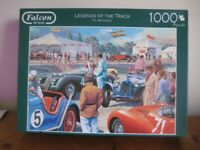 1000 PIECE JIGSAW PUZZLE - LEGENDS OF THE TRACK - COMPLETE