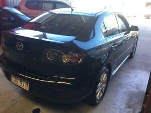 2007 Mazda 3 BK10F2 Maxx Black Manual Sedan