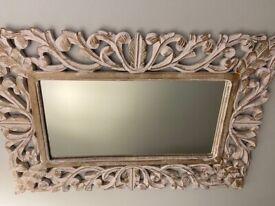 Antique effect mirror