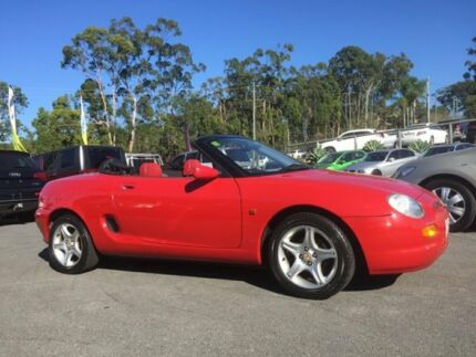 1997 MG F Red 5 Speed Manual Roadster Southport Gold Coast City Preview