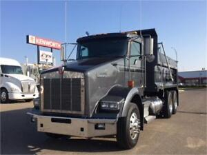 Kenworth 2013 T800 New Dump Box