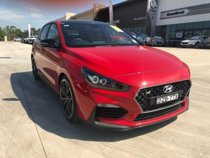 2018 Hyundai i30 PDe MY18 N Performance Red 6 Speed Manual Hatchback Muswellbrook Muswellbrook Area Preview