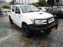 2007 Toyota Hilux KUN26R 07 Upgrade SR (4x4) White 5 Speed Manual Dual Cab Pick-up Homebush West Strathfield Area Preview