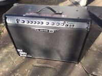 Line 6 Spider III 150 watt amp plus guitar leads, pedal, strings (clearing out old guitar stuff)