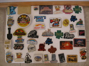45 FRIDGE MAGNETS - US - -CANADA - OFFERS