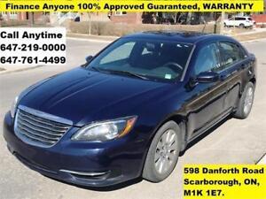 2014 Chrysler 200 LX FINANCE 100% GUARANTEED, WARRANTY