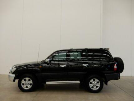 2007 Toyota Landcruiser UZJ100R GXL Black 5 Speed Automatic Wagon Braeside Kingston Area Preview
