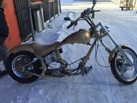 1989 HARLEY SOFTAIL ROLLING CHASSIS