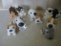 MACDONALDS 'THE DOG' COLLECTION X 10 COLLECTABLES
