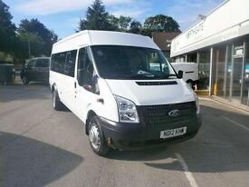 Ford Transit T430 Medium Roof 17 Seater Tdci 135Ps DIESEL MANUAL WHITE (2012)