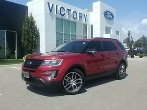 2016 Ford Explorer Sport, Navigation,Pano Roof, 7 Pass