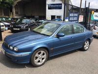 2002 / 02 Jaguar X-TYPE 3.0 V6 auto SE Leather/ Sat Nav