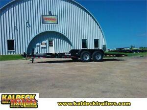 "CAM Super Line 102"" x 20' Full Tilt Equipment Trailer"