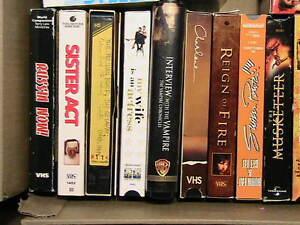 VHS FILMS CASSETTES