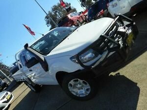 2012 Ford Ranger PX XL 3.2 (4x4) White 6 Speed Manual SUPER CCHAS Belconnen Belconnen Area Preview