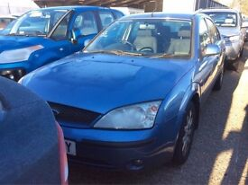 2002 FORD MONDEO 1.8 ZETEC PETROL MANUAL 9 MONTHS MOT GREAT DRIVE SPACIOUS CHEAP CAR NO PASSAT FOCUS